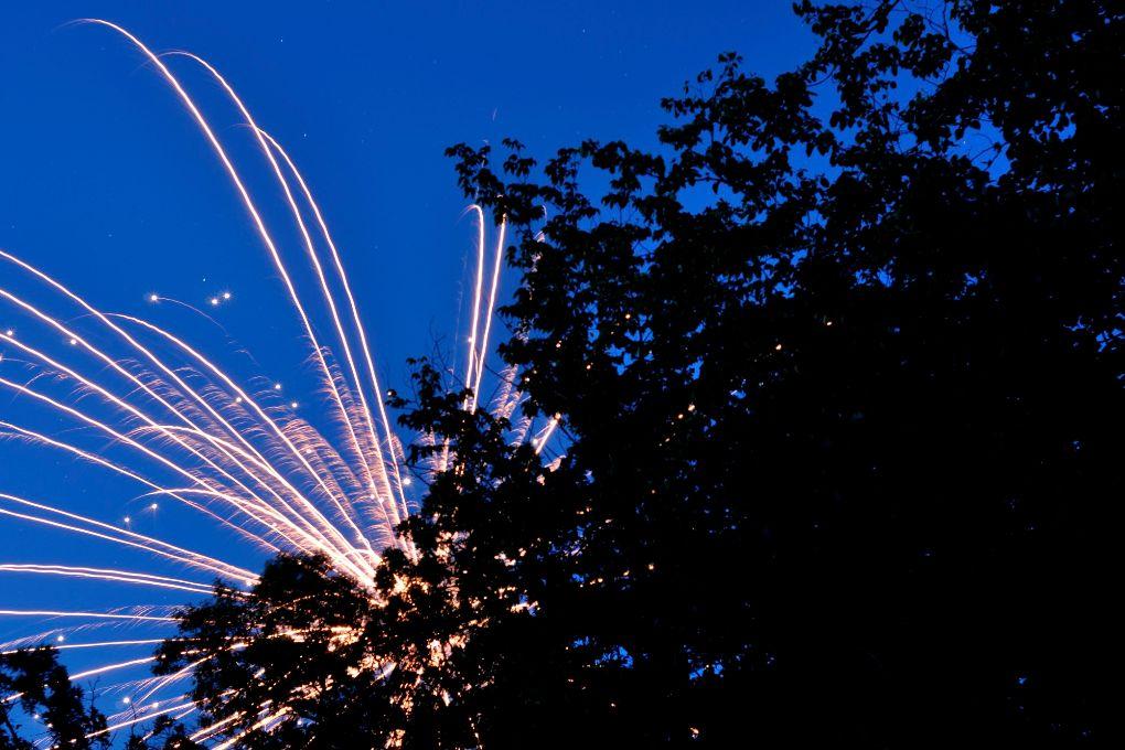 Fireworks Gone Wild