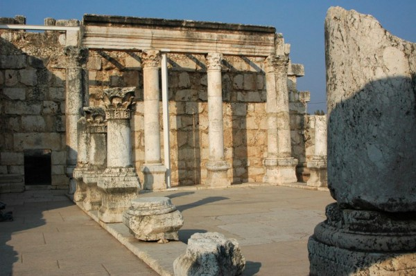 Temple in Capernaum