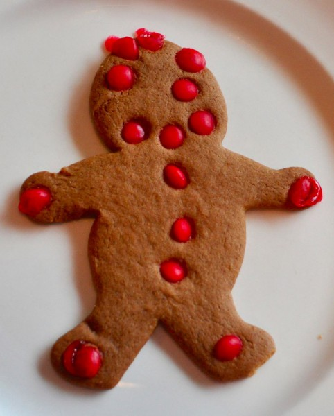 Charlie told me later they weren't a big hit with him but I think it's because they were smaller than the Gingerbread Men and well, if you only get one cookie why not go for the biggest?