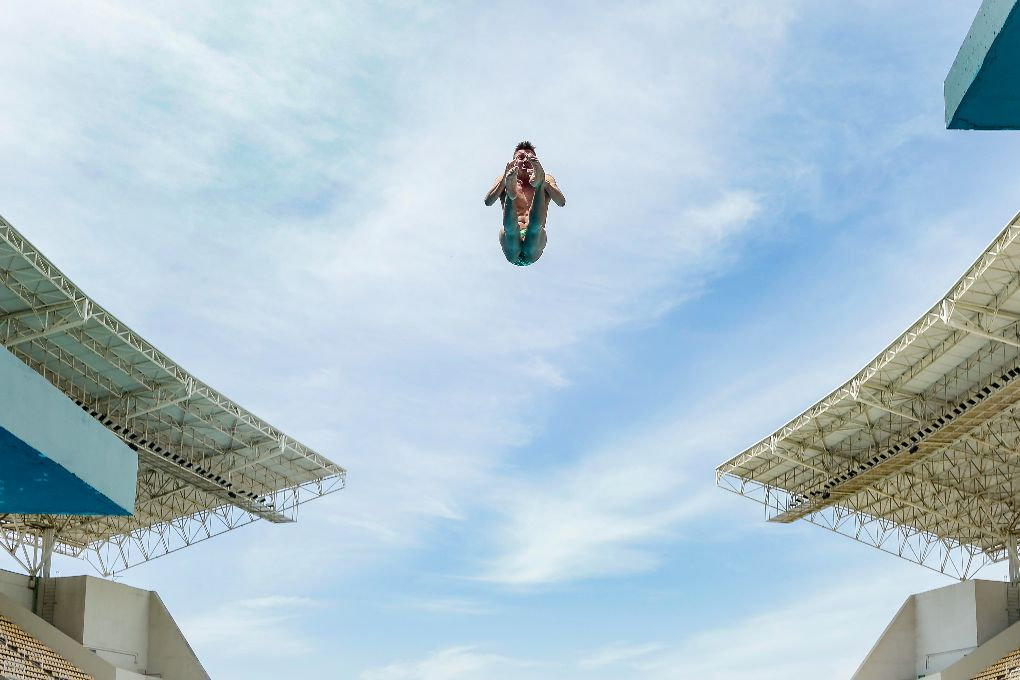 I Was Almost an Olympic Diver