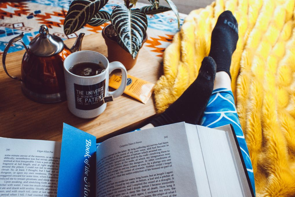 Crisp Days and Cool Nights Call for a Good Book